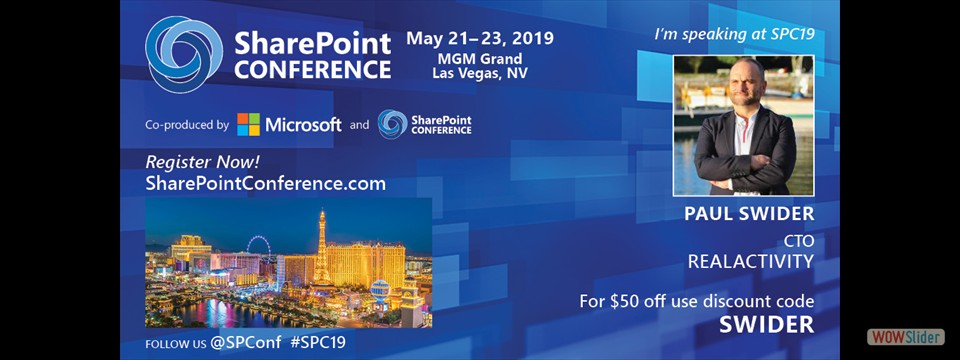 SharePoint Confernence